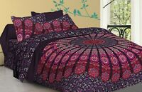 New Bedding Set Quilt Duvet Dona Cover King Size Bed Mandala Hippie Gypsy Indian