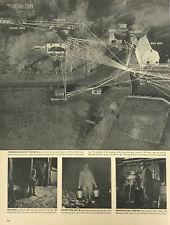 Agriculture Barn Farm House Hog House Magazine Print Photo Vintage View Aerial