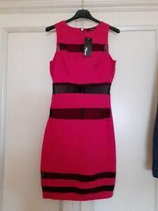 Jane Norman Dress Size 10 Stretch Wedding Party Evening Body con Midi