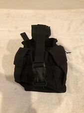 AIRSOFT HUNTING PAINTBALL HPA BOTTLE TANK POUCH BLACK