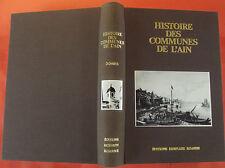 Histoire des communes de l'Ain 1983, la Dombes