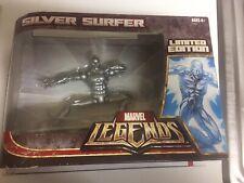 Marvel Legends Silver Surfer Limited Edition Figure Factory Sealed + Comics