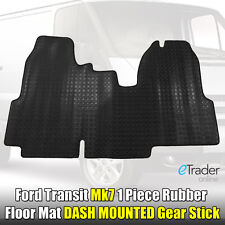 Heavy Duty Rubber Floor Mat Ford Transit MK7 2006 - 2013 Tailored Fit Mats 1 PCE