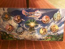 Dragon Quest XI ecos de una evasiva edad Pin Set (raro) Nuevo, Sellado