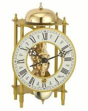 HERMLE Table Mantel Clock mechanical 8-day movement skeleton clock Made Germany