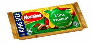 MARABOU MINT KROKANT 250g - Chokolad - Schokolade - Minz - King Size -