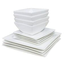 New Maxwell & Williams White Basics East Meets West 12 Piece Dinner Set
