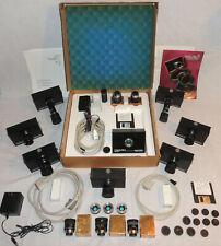 8 Vintage Sound Vision CMOS-PRO Studio Digital Cameras & 12 Computar Lenses More
