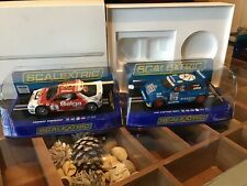 Scalextric  Ford RS200 & Metro 6R4 Rally Cars - New in Box