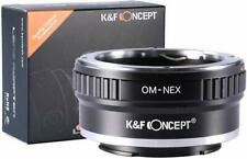 K&F Concept Lens Mount Adapter Olympus OM Lens to Sony NEX (E-Mount) Camera Body