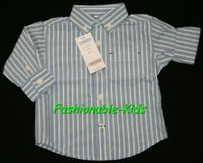 6 9 12 Nwt Gymboree Frog Pond Blue Striped Button Down Shirt Boys 6 12