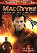 MacGyver: The Complete Fourth Season [5 Discs] (2005, DVD NEW)