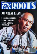 ALI AKBAR KHAN - FOLK ROOTS MAGAZINE - COVER STORY - JUNE, 1995
