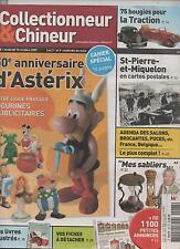 Astérix guide des Figurines Publicitaires. N° de Collectionneur & Chineur 2009