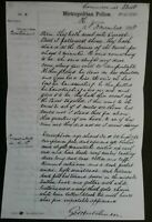 POLICE REPORT ON EVIDENCE ON 12th NOVEMBER 1888 ON JACK THE RIPPER MURDER ,GIFT