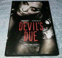 Devil's Due DVD Allison Miller Zach Gilford Sam Anderson horror HALLOWEEN