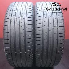 New Listing2x Tires Likenew Pirelli P Zero Pz4 Run Flat 2454020 24540r20 2454020 59580 Fits 24540r20