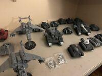 ASTRA MILITARUM IMPERIAL GUARD Warhammer 40k Leman Russ Chimera Hellhammer lot