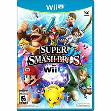 Super Smash Bros Nintendo Wii U With Manual And Case Very Good 1Z