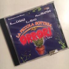 """ROSSANA CASALE MANUEL FRATTINI """"LA PICCOLA BOTTEGA DEGLI ORRORI"""" RARO CD"""