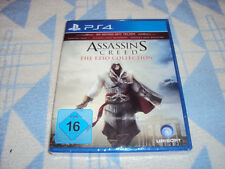 Assassin's Creed: The Ezio Collection (Sony PlayStation 4, 2016) NEU OVP