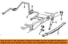 GM OEM Stabilizer Sway Bar-Rear-Link 15722338