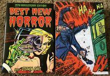 BEST NEW HORROR 25th ANNIVERSARY Jones (ed) 100 copy SIGNED/LTD/SLIPCASED HC IMP