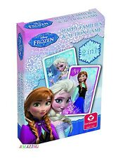DISNEY FROZEN HAPPY FAMILIES & ACTION GAME PLAYING CARDS - NEW