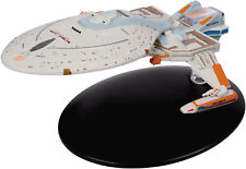 #122 USS Yeager NCC-65674 Star Trek Eaglemoss UK Metal Ship- Mailed from USA