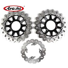Arashi 1 Set Front & Rear Brake Disc Rotor  For HONDA CBR1000RR 2008-2015 09 10