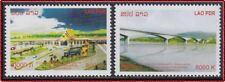LAOS N°1841/1842** Pont LAO THAILANDAIS, 2013 Laos 2254/2255** Bridge Set MNH