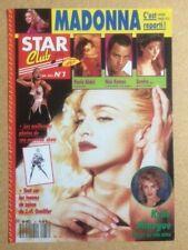 "MADONNA Original ""Star Club No 1 Juin 1990"" French Magazine Article ONLY"