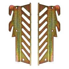 """7 5/16"""" Tall Bolt to Hook-On Bed Frame Headboard Conversion Plate Adapter Set"""