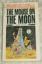 Leonard Wibberley, THE MOUSE ON THE MOON, Vintage 1963 Science Fiction PB Novel