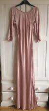 NEW! Ghost London Dress Small RRP £195 Maxi Pink Silk Wedding Bridesmaid
