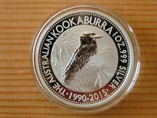 1 oz Silbermünze Kookaburra 2015, in Originalkapsel