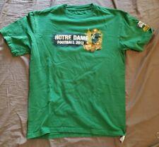 "Notre Dame Fighting Irish Football  ""THE SHIRT"" T Shirt Green Jersey 2013  XXL"