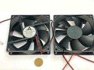 2 x Gdstime Fan Brushless Cooling Case dc 9225 24V 92mm x 25mm 2pin GDA9225 G11