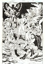 Justice League: Generation Lost #14 p.8 - Future JLA Team 2011 by Aaron Lopresti