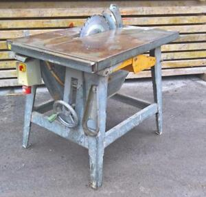 Avola Säge Bausäge Holzsäge Tischkreissäge Höhenverstellbar L12