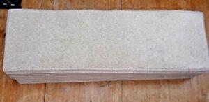 27x8.50inches(69x22cm) LIGHT NEUTRAL  BEIGE  STAIR TREADS   #4051