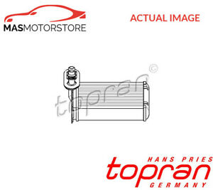 HEATER RADIATOR EXCHANGER LHD ONLY TOPRAN 109 304 P NEW OE REPLACEMENT
