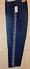 New Catherine's southwest straight leg jeans stretch Dark Wash 26W J-21 $64
