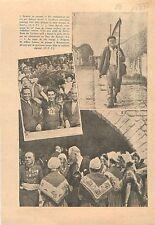 Gino Bartali Vainqueur Tour de France Notre-Dame des Victoires 1938 ILLUSTRATION