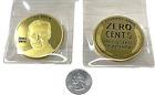 """HUGE  2"""" 2020 RARE = 1 x Joe Biden ZERO CENTS coin/ Trump Thumping Biden Coin"""