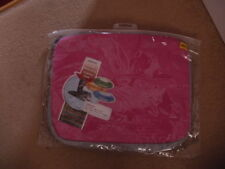 """NEW IN PACK deluxe 13.3"""" 13 inch Neoprene PINK Laptop Case bag FREE POSTAGE"""