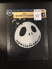 The Nightmare Before Christmas Glow In The Dark STEELBOOK Blu-Ray New Sold Out!