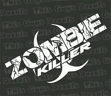 Zombie killer Vinyl Decal outdoor racing window car truck stickers walking dead
