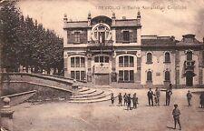 CARTOLINA DI TREVIGLIO BERGAMO - TEATRO ASSOCIAZIONI CATTOLICHE - VG 1917 C8-418