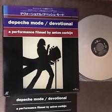 DEPECHE MODE Devotional JAPAN Laser Disc w/CAP OBI+INSERT BVLP-107 ANTON CORBIJN